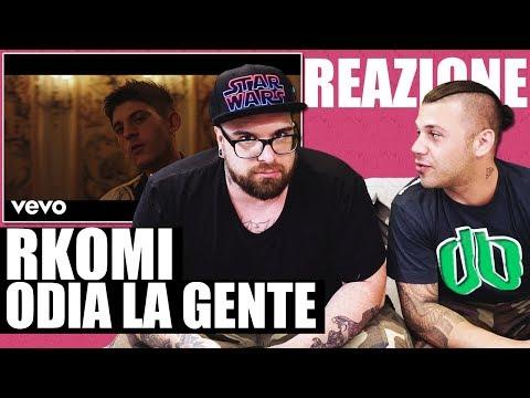RKOMI - ACQUA CALDA E LIMONE ft. ERNIA | RAP REACTION 2018