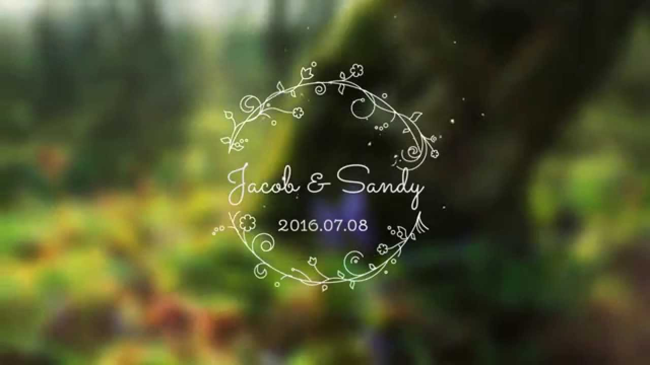 20 after effects templates for the most incredible wedding videos.