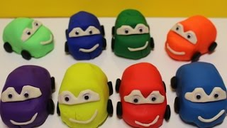 МАШИНКИ CARS Мультик про машинки Весёлые машинки в пластилине Play Doh