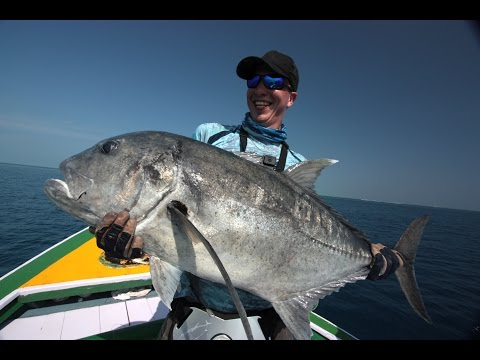 Laccadives 2016 - Popper Fishing For Big GTs In The Arabian Sea
