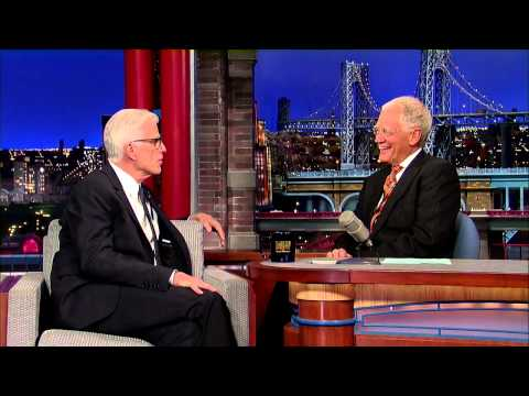 Ted Danson Refuses to Watch Woody Harrelson on the Big Screen  David Letterman