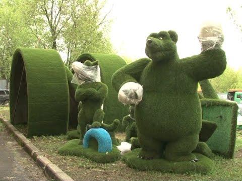 Вслед за Машей и Медведем в парке Сказок появятся новые герои мультфильмов