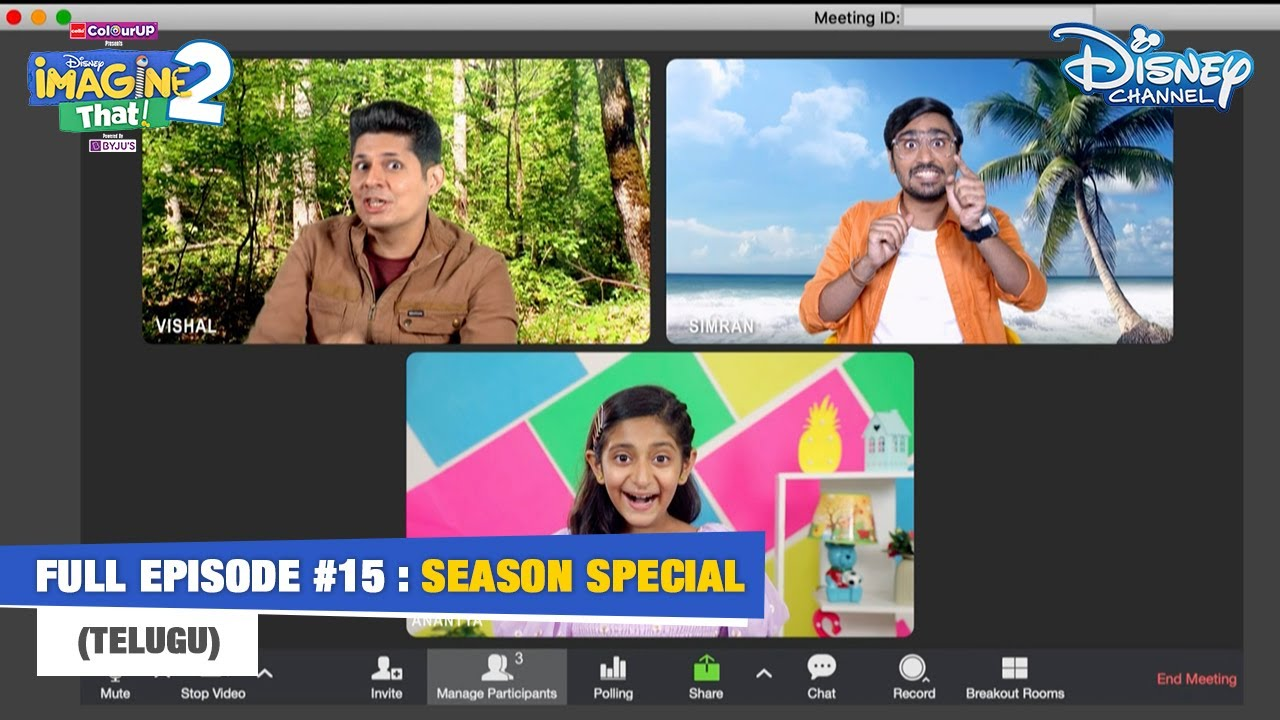 Disney Imagine That 2   Telugu   Episode 15   Special   Disney Channel