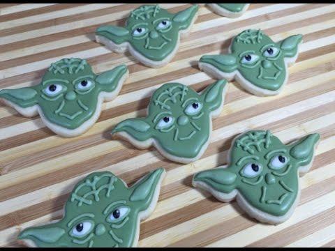 Star Wars Yoda Cookies (How To)