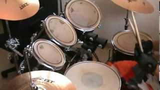 Como tocar Thrash metal en bateria - by Blackie