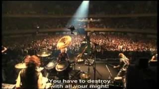 The GazettE - Part 7 - Nameless Liberty Six Guns Live