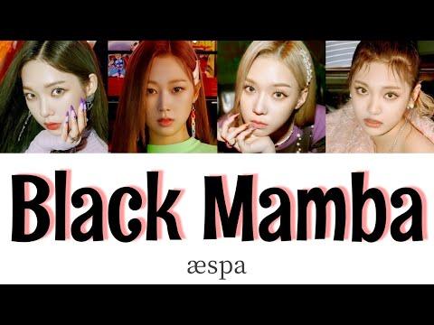 【かなるび/日本語字幕】aespa - Black Mamba