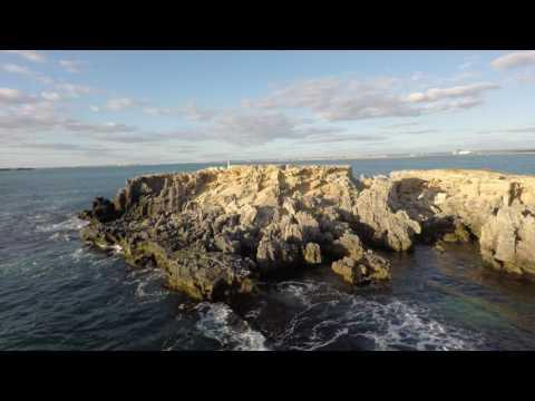 Cape Peron, Rockingham in Western Australia via drone