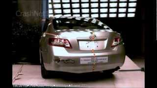 2010  Toyota Camry | Pole Crash Test | CrashNet1