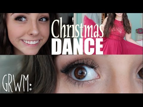 Christmas Dance MakeUp Tutorial! 2016 : get ready with me!
