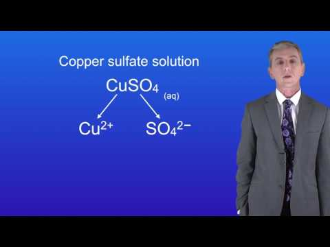 GCSE Science Chemistry (9-1): Electrolysis Of Aqueous Solutions 1