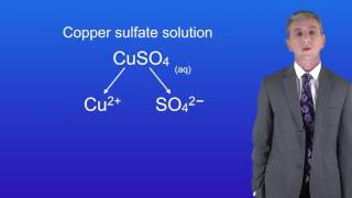 GCSE Chemistry (9-1): Electrolysis of Aqueous Solutions 1