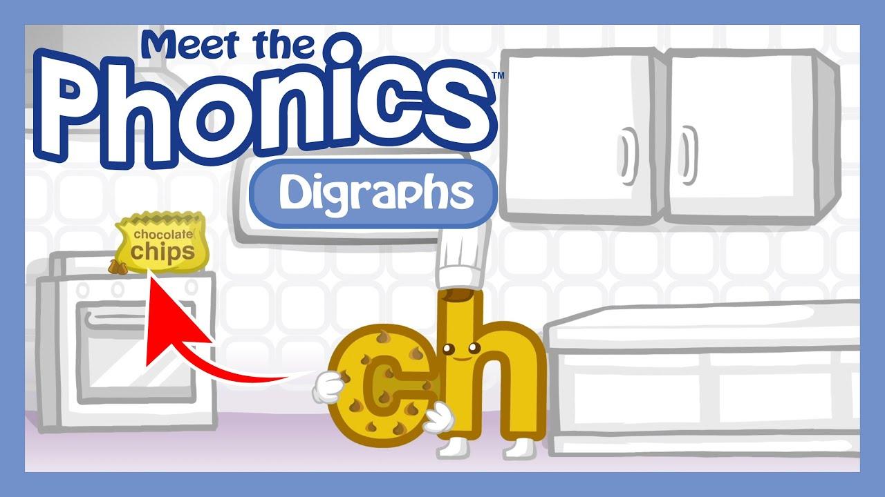 Meet the Phonics Digraphs - Jump In Segment