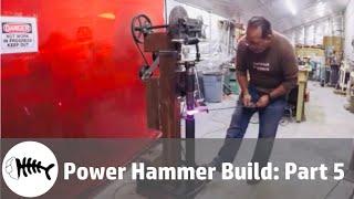 blacksmith : power hammer build part 5