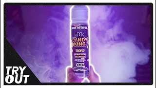 """Candy King - Bubblegum Collection - """"Tropic"""" E-Juice (Taste Test / Review)   Tryout"""