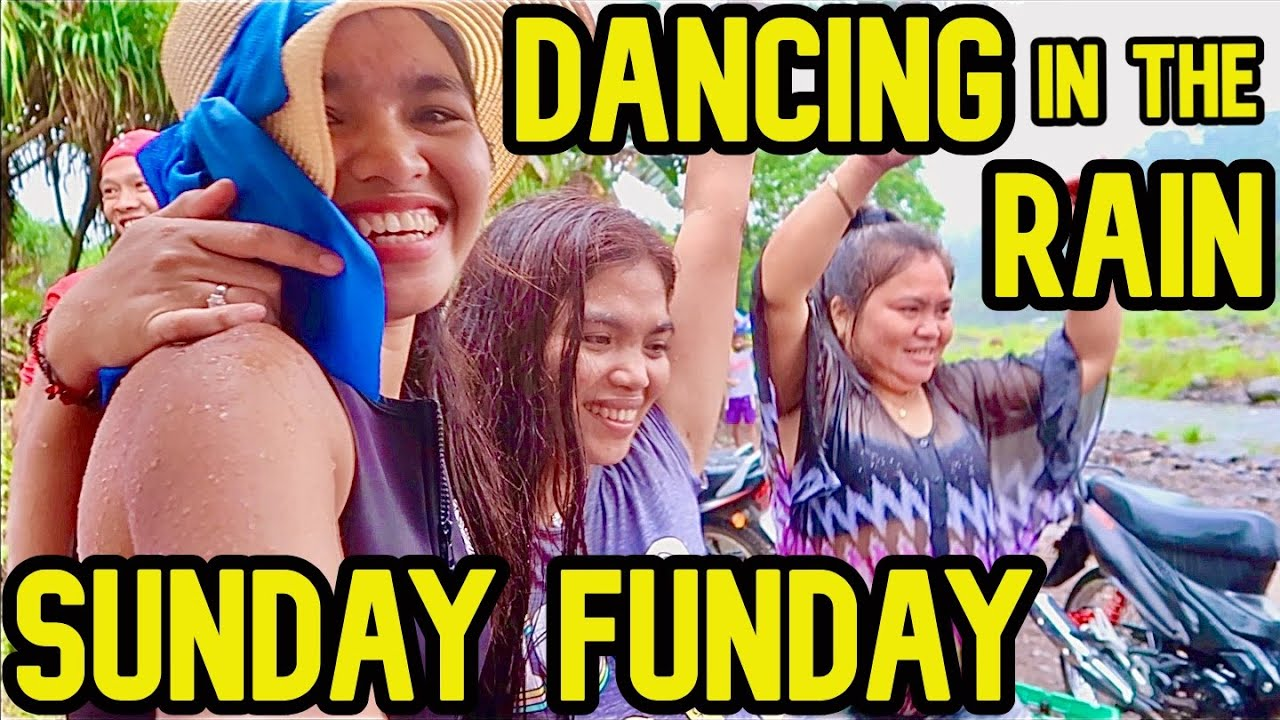 Sunday Funday Dancing in the Rain | ITS MORE FUN IN MINDANAO PHILIPPINES | Exploring Local Spot