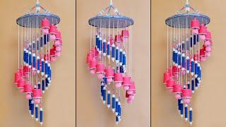 Beautiful Tea Cup Jhumar Making || Handmade Home Decorating Idea || DIY Wind Chime