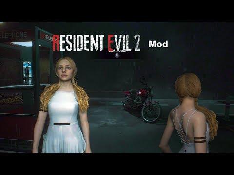 Resident Evil 2 Remake - Katherine Warren Mod Opening