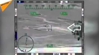 Russian Helicopter MI 28H Destroys Daesh Targets in Syria