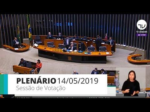 Plenário - Sessão de votação - 14/05/2019 - 14:00