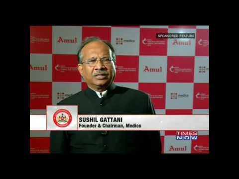 Medics Super Speciality Hospital Lucknow Prelaunch On Times Now Part (3)