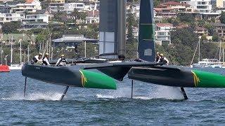 Sail Gp - Sydney Highlights