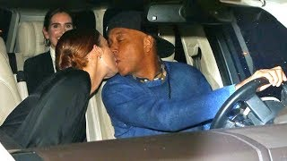 Russell Simmons Shares A Kiss With Much Younger Woman After Dinner At Craig