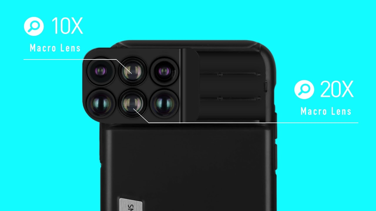 new style a90cb 626b4 MOMAX - iPhone X 6-in-1 Lens Case - Animation (ENG)
