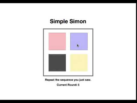 Simple Simon Game