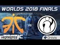 FNC vs IG Game 1 Highlights Worlds 2018 Finals Fnatic vs Invictus Gaming by Onivia