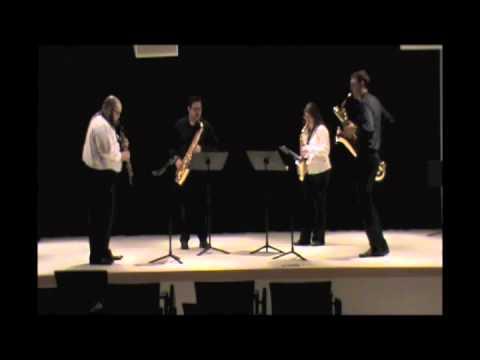 Quartet for Saxophones by Elliot A. Del Borgo