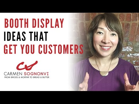 Booth Display Ideas That Get You Customers Carmen Sognonvi Youtube