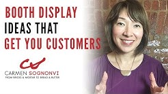 Booth Display Ideas That Get You Customers | Carmen Sognonvi
