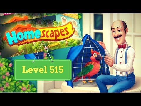 Homescapes Level 515 - How to complete Level 515 on Homescapes