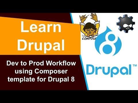 Drupal Development Workflow Dev To Prod | Composer | Export Configurations