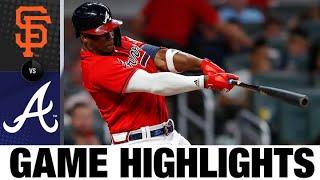 Giants vs. Braves Game Highlights (8/27/21)