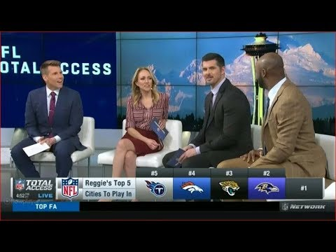 Top 5 Cities To Play In | NFL Total Access