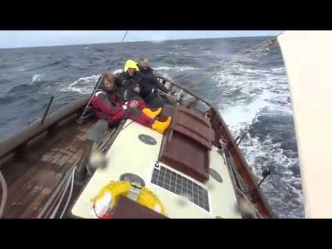 "Fastnet 2011 aboard Pilot Cutter ""Edith Gray"""