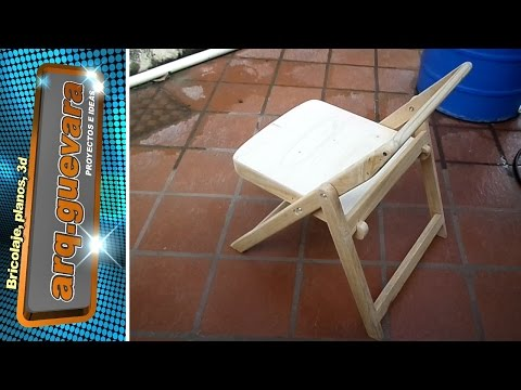 Folding Silla Chair Fishing Youtube Plegable 3jL4R5A