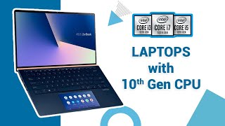 Top 5 Latest Laptops with Intel 10th Gen CPU Available Now