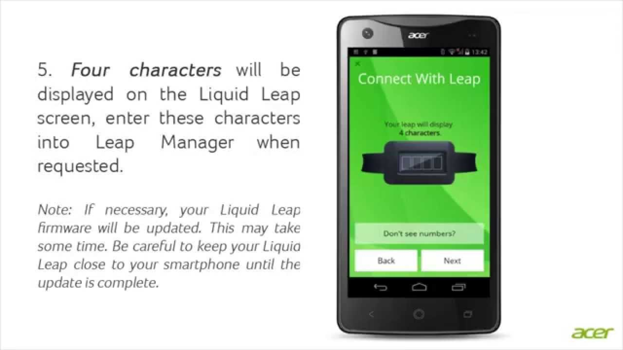 Liquid Leap - Installing the Leap Manager app - YouTube