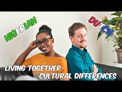 LIVING WITH MY NIGERIAN WIFE / DUTCH HUSBAND | Cultural differences ** CherAndMarkie **