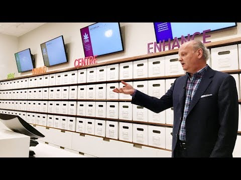 Preview of a Nova Scotia cannabis shop within a liquor store