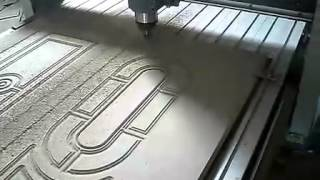Door Making By General Cnc Router Machine.flv