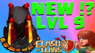 Clash of Clans Level 9 WIZARD TOWER? New Wizard Tower Level needed?