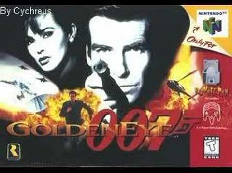 007 Goldeneye OST Bonus Track Main Menu