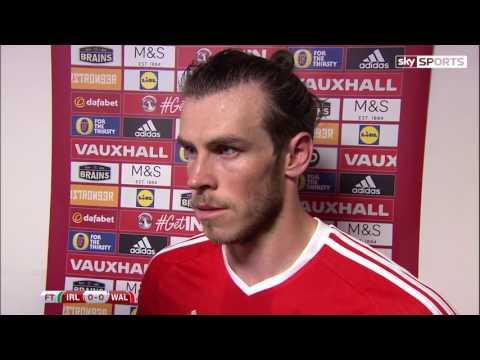 Republic of Ireland v Wales - post-match interview - Gareth Bale (24/3/17)