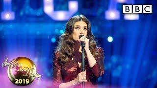Idina Menzel sings Seasons of Love - Week 11 Musicals | BBC Strictly 2019