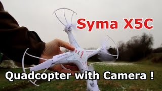 Syma X5C -1 Quadcopter Review - Integrated HD Camera - Upgraded Version from Newfrog.com [HD]