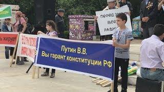 Дагестанская оппозиция протестует с надеждой на Аллаха и Путина